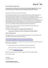 Wichtige EGVP-Änderung! - AnNoText