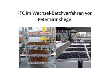 HTCi W h lB t h f h HTC im Wechsel-Batchverfahren von ... - ANS eV