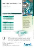 Gammex® PF Underglove - Ansell Healthcare Europe - Page 4