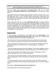 Jesu Beziehung zum Vater - Anskar Kirche Deutschland