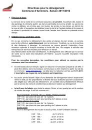 Saison 2011/2012 - Commune d'Anniviers