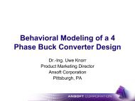 Presentation - Behavioral Modeling of a 4 Phase Buck Converter ...