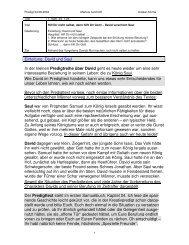 Hilf Dir nicht selbst, dann hilft Dir Gott - Anskar Kirche Deutschland