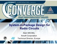 System-in-Package Design for Radio Circuits