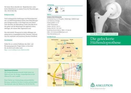 Die gelockerte Hüftendoprothese - Asklepios