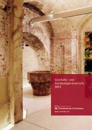 und Nachhaltigkeitsbericht 2011 - Bankhaus Schelhammer ...