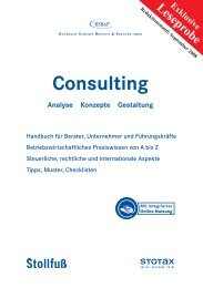 Consulting - Stollfuß Medien