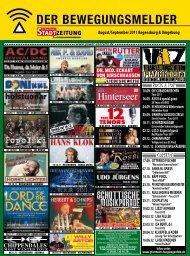 Programm, Bewegungsmelder (2550 kb) - Regensburger Stadtzeitung