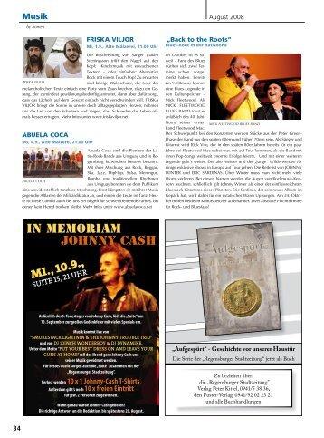 Musik - Regensburger Stadtzeitung
