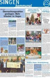09. Dez. 2009 - Singener Wochenblatt