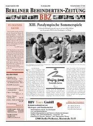 Berliner Behindertenzeitung
