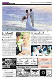 Hochzeit - Schwäbisches Tagblatt