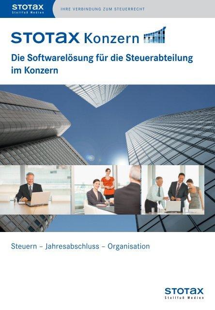 Die Softwarelösung für die Steuerabteilung im ... - Stollfuß Medien