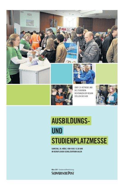 und Studienplatzmesse Aalen 2011 - Schwäbische Post