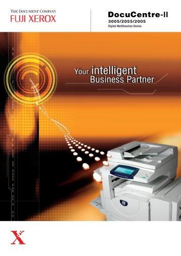 DocuCentre-II - Fuji Xerox Asia Pacific