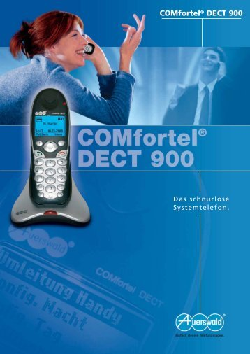 COMfortel® DECT 900 - SATEC