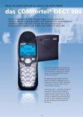 COMfortel® DECT 900 - SATEC - Page 2