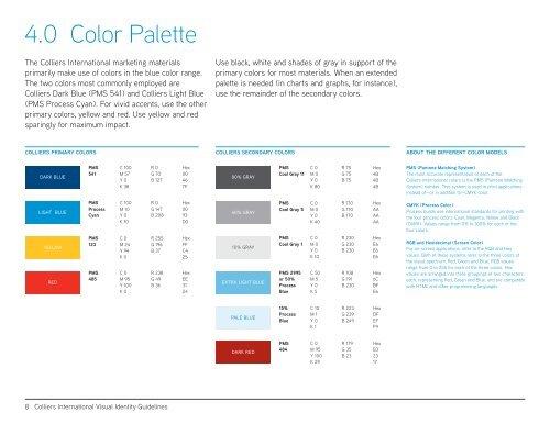 4 0 Color Palette The Col