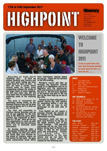 2011 Log Book copy - High Point YachtFest