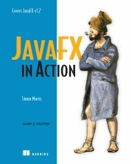 JavaFX in Action - Manning Publications