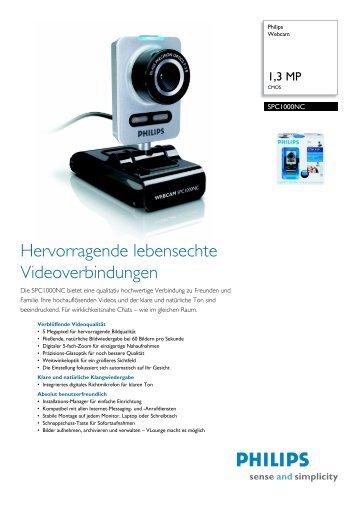 SPC1000NC/00 Philips Webcam