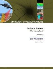GeoSpatial Solutions - Merrick & Company