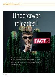 Leistungstest: Undercover reloaded! - FACTS Verlag GmbH