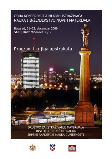 Program i knjiga apstrakata - Mrs-serbia.org.rs