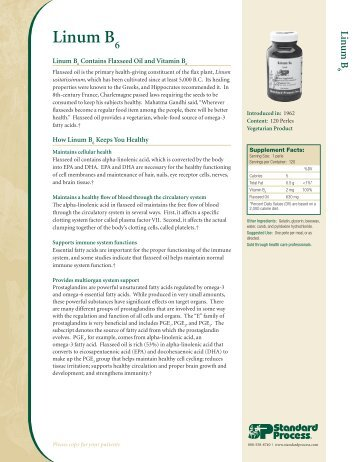 Linum B - Standard Process