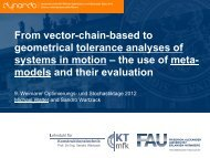 the use of meta- models and their evaluation