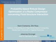 Probability-based Robust Design Optimization of a ... - Dynardo GmbH