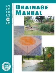 chapter 2. stormwater planning - City of Rogers