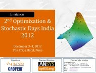 The Material Modeling Days 2-day Workshop on ... - Dynardo GmbH