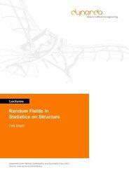 Lectures Random Fields in Statistics on Structure -  Dynardo GmbH