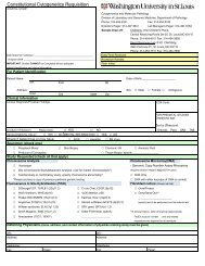 Copy of blood req with CMA - Department of Pathology & Immunology