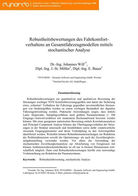 Paper als Download - Dynardo GmbH