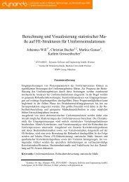 Berechnung und Visualisierung statistischer Maße ... - Dynardo GmbH