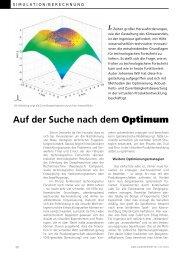 Auf der Suche nach dem Optimum - Dynardo GmbH