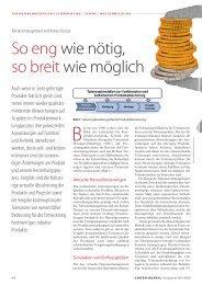 So eng wie nötig, so breit wie möglich - Dynardo GmbH
