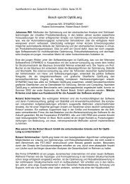 Bosch spricht OptiSLang - Dynardo GmbH