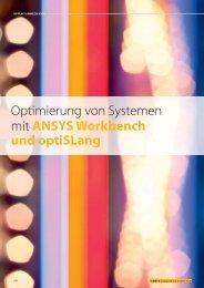 CADFEM Seminarplaner 01/2012 optiSLang ... - Dynardo GmbH