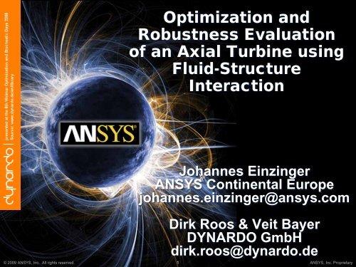 Sensitivity Analysis - Dynardo GmbH
