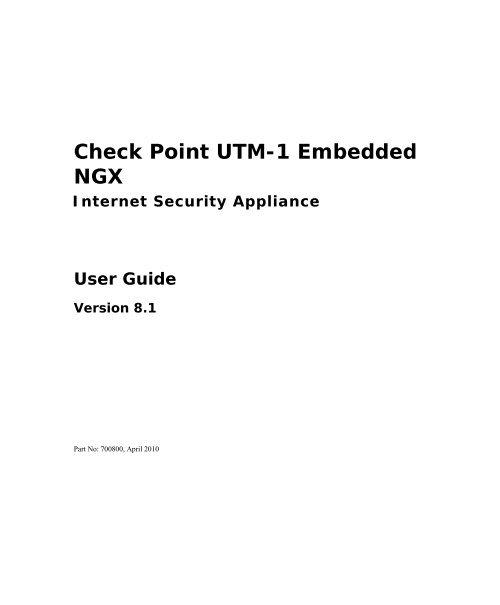 UTM 1 Edge N User Guide - Secured Home of sofaware infopop