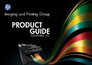 Imaging And Printing Group Product Guide - software support systems