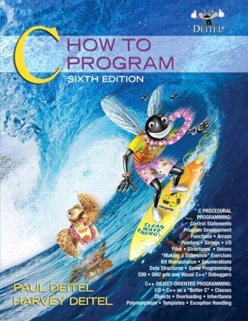 C: How to Program - Blazing! Adventures Magazine