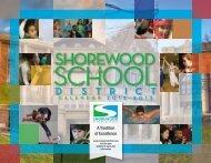 2012-2013 printed calendar - Shorewood School District