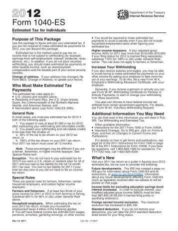 2000 Form 1040 V Internal Revenue Service