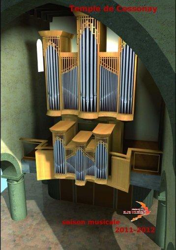 Temple de Cossonay - Fondation Aura Musicae