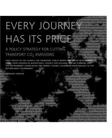 EVERY JOURNEY HAS ITS PRICE - Raad voor de leefomgeving en ...