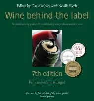 7th edition - Wine behind the label
